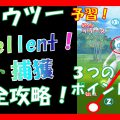 【ポケモンgo】色違い ミュウツー Excellent ゲット 攻略!投げ方 予習!【pokemon go】 Mewtwo How to Excellent get!